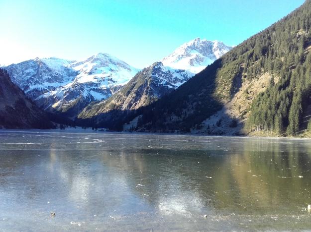 Vilsalpsee_Eis_Tannheimer Tal_Allgäuer Alpen_Winter