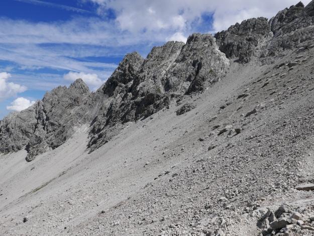 Alpen_Allgäuer Alpen_Hochvogel_Sommer_Geröll